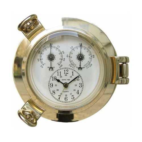 Orologio, Igrometro e Termometro in ottone