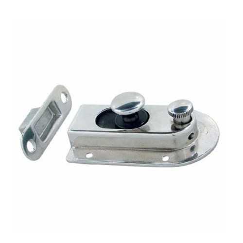 Catenaccio magnetico a incasso in acciaio inox con blocco interno e chiave
