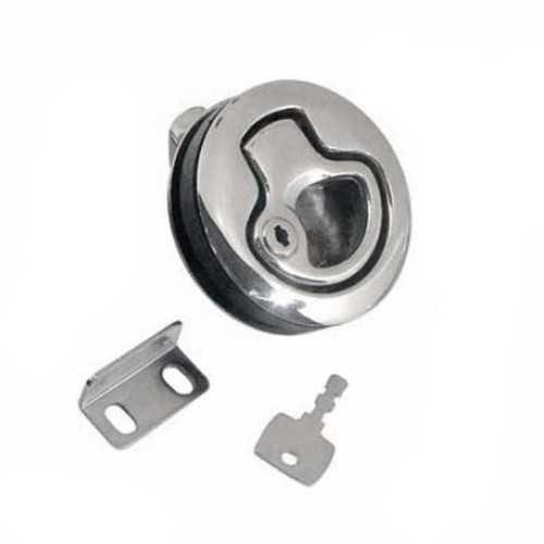 Chiusura a spinta in acciaio inox per portelli e paglioli