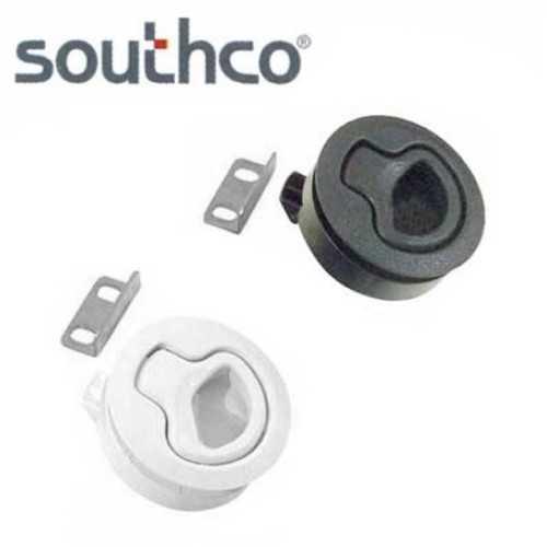 Chiusura a spinta Southco in resina rinforzata per portelli e paglioli