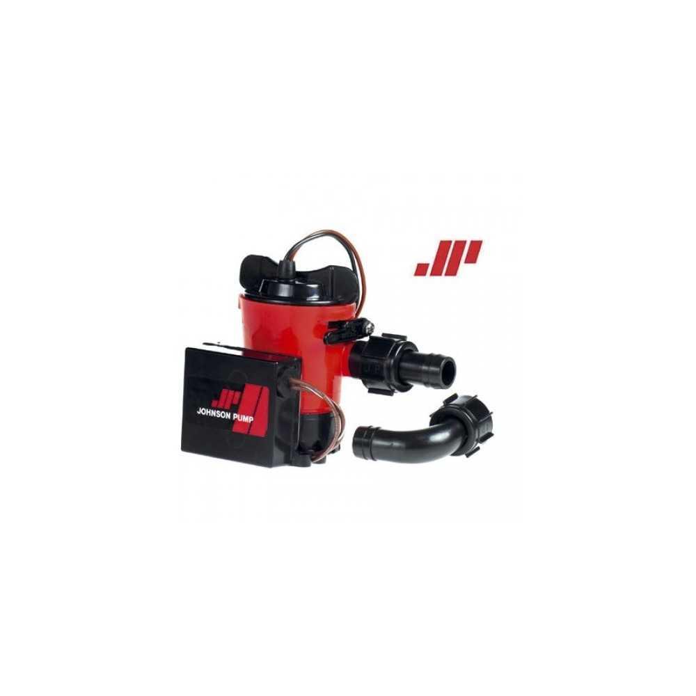 Johnson Pump Pompa di sentina Automatica Ultima Combo 12V