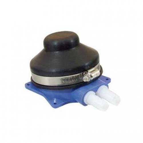 Pompa a pedale con membrana per lavelli