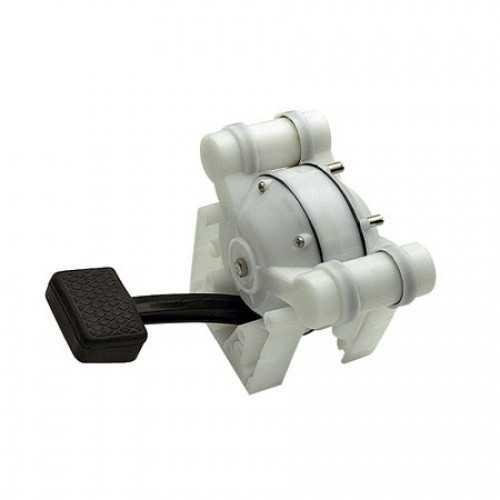 Pompa a pedale con valvole per lavelli