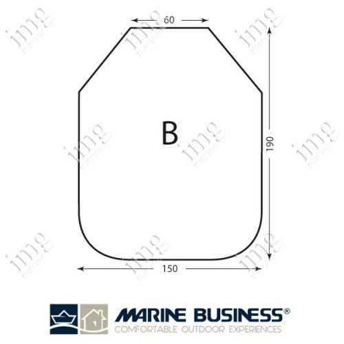 Lenzuolo cotone elasticizzato Mod.B - Marine Business