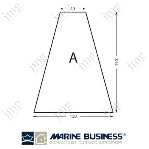 Lenzuolo cotone elasticizzato Mod.A - Marine Business