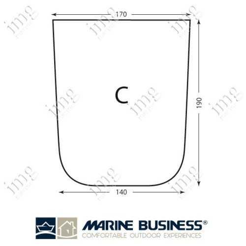 Lenzuolo cotone elasticizzato Mod.C - Marine Business