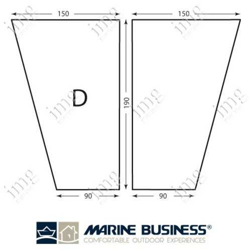 Lenzuolo cotone elasticizzato Mod.D - Marine Business