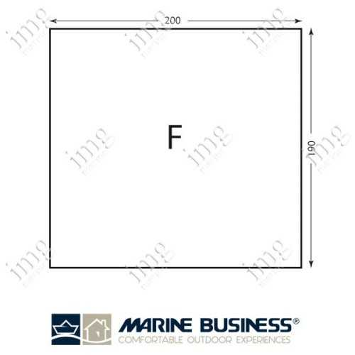 Lenzuolo cotone elasticizzato Mod.F - Marine Business