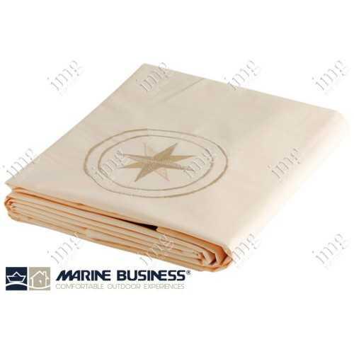 Lenzuolo doppio Free Style con Federe Ecru - Marine Business