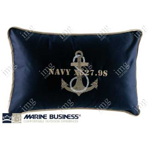 Cuscini Free Style Anchor Blue Navy Marine Business