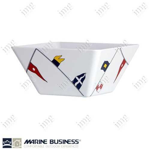 Piatti quadrati fondi melamina Regata Marine Business