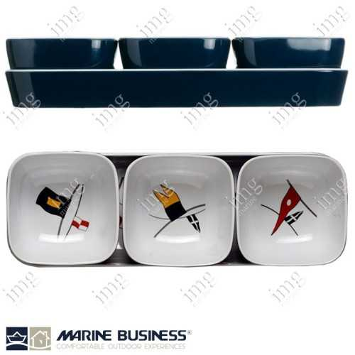 Set aperitivo melamina Regata Marine Business