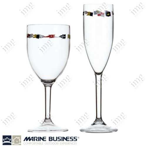 Bicchieri infrangibili Regata a calice Marine Business