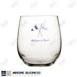 Bicchieri infrangibili da acqua Welcome on Board Marine Business
