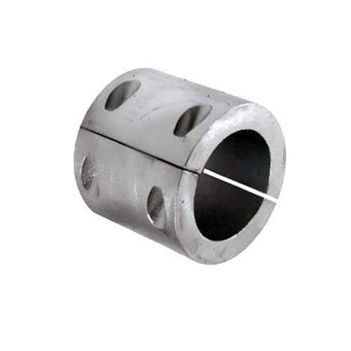 Anodo a collare in zinco per asse elica