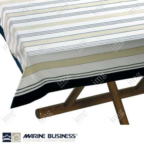 Tovaglia antimacchia Beige Blue Marine Business