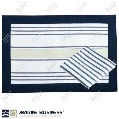 Tovagliette americane antimacchia Beige Marine Business