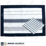 Tovagliette americane antimacchia Blue Navy Marine Business