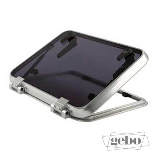 Osteriggio GEBO profilo in alluminio con battuta